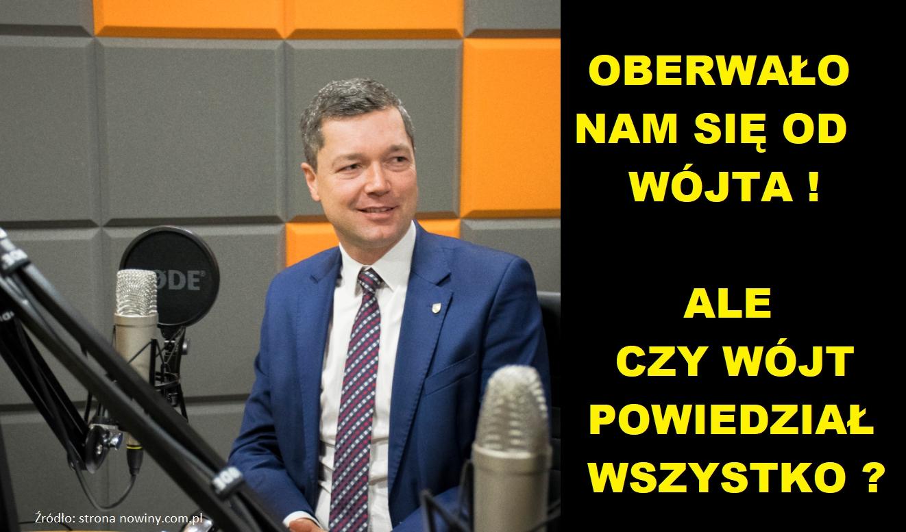 Oberwało nam się od Wójta Nowaczkiewicza, ale czy Wójt powiedział wszystko ???