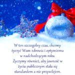 Życzymy spokojnych świąt !